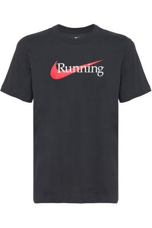 NIKE Mænd Træning t-shirts - Dri-fit Running T-shirt