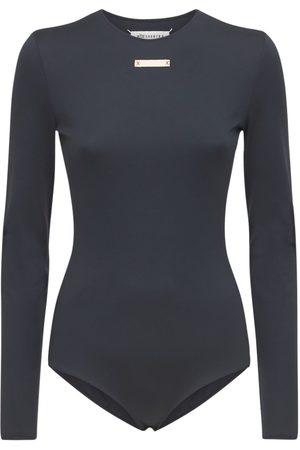 MAISON MARGIELA Stretch Jersey Bodysuit