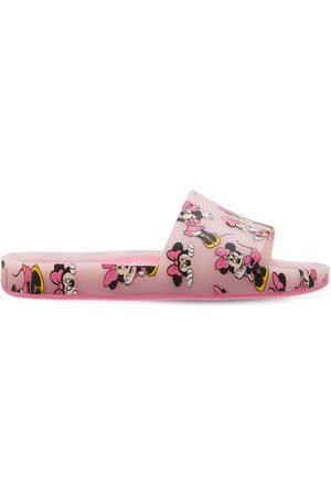 Mini Melissa Minnie Scented Rubber Slide Sandals
