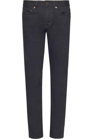 Saint Laurent Mænd Jeans - Cotton Denim Jeans