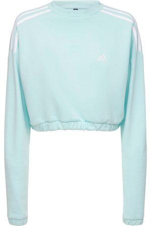 ADIDAS PERFORMANCE Cropped Crewneck Sweatshirt