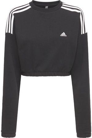 ADIDAS PERFORMANCE Kvinder Sweatshirts - Cropped Crewneck Sweatshirt