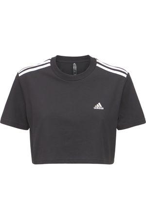 ADIDAS PERFORMANCE Kvinder Kortærmede - Cropped T-shirt