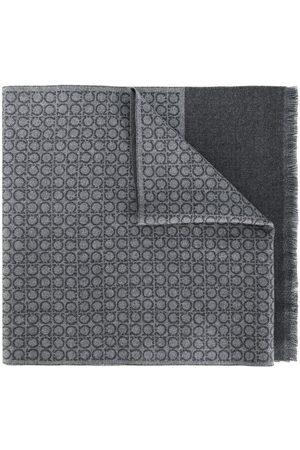 Salvatore Ferragamo Mænd Tørklæder - Interlocked Gancini scarf