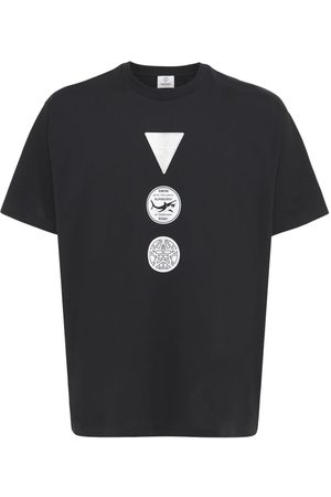 Burberry Badges Cotton Jersey T-shirt