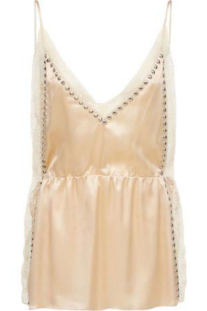 Miu Miu Kvinder Festkjoler - Silk Satin Mini Dress