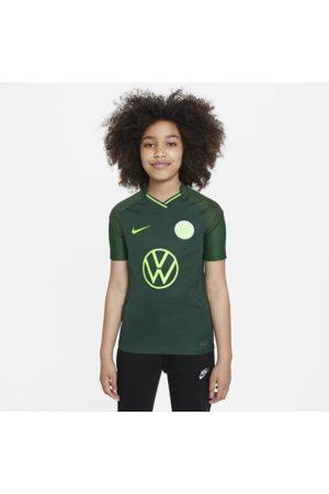 Nike VfL Wolfsburg 2021/22 Stadium Away-fodboldtrøje til større børn