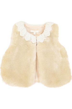 Chloé Baby faux fur waistcoat