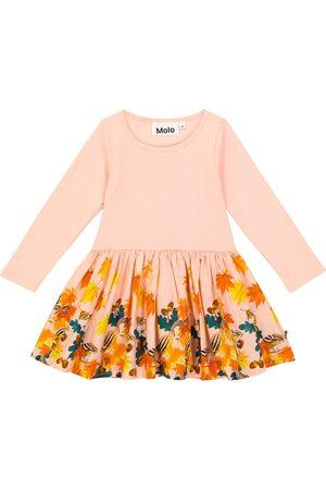 Molo Baby Kjoler - Baby Candy printed stretch-cotton poplin dress