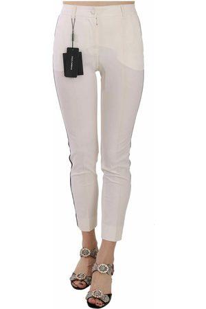 Dolce & Gabbana Side Stripe Cropped Skinny Pants