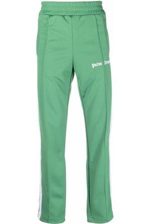 Palm Angels Mænd Joggingbukser - CLASSIC TRACK PANTS GREEN WHITE