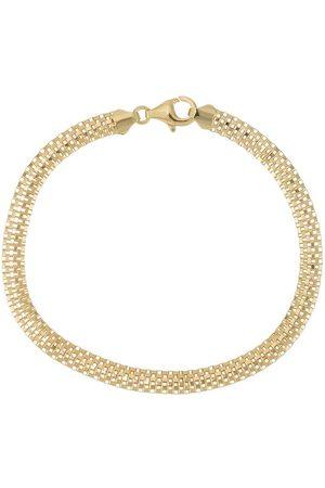 Nialaya Jewelry Armbånd med vævet kæde