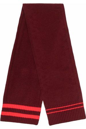 Maison Margiela Stripe-detail knit scarf