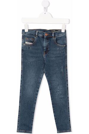 Diesel Jeans med lige ben og mellemhøj talje