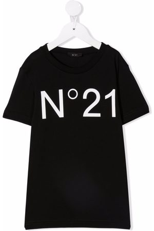 Nº21 Kortærmet T-shirt med logotryk