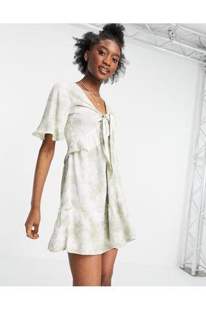 Influence Kvinder Strandkjoler - Strandkjole i lysegrønt batik