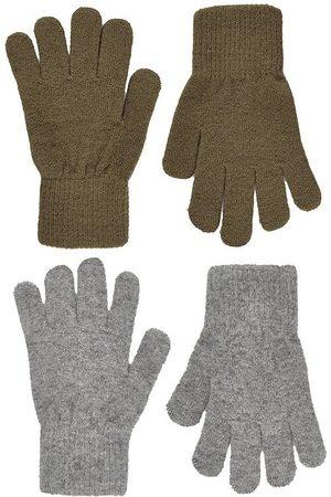 CeLaVi Handsker - Handsker - Uld/Nylon - 2-pak - Military Olive/Gråmeleret