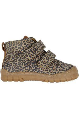 Angulus Lær-at-gå sko - Begyndersko - Leopard