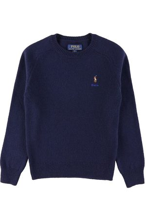 Ralph Lauren Poloer - Polo Bluse - Uld - Greenwich - Navy