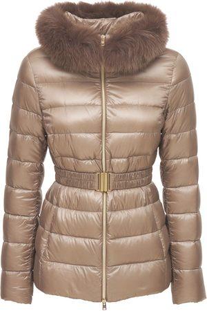 HERNO Kvinder Vinterjakker - Claudia Iconic Down Jacket W/ Fur