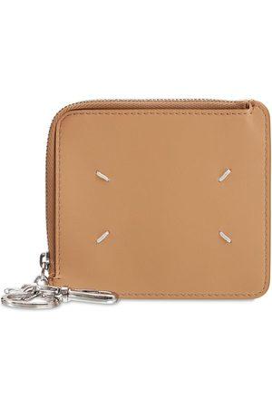 Maison Margiela Soft Leather Key Chain Wallet