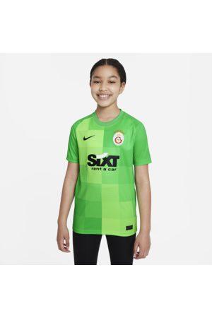 Nike Galatasaray Goalkeeper Dri-FIT-fodboldtrøje med korte ærmer til større børn