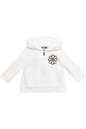 Moschino Sweatshirts - Baby printed stretch-cotton hoodie
