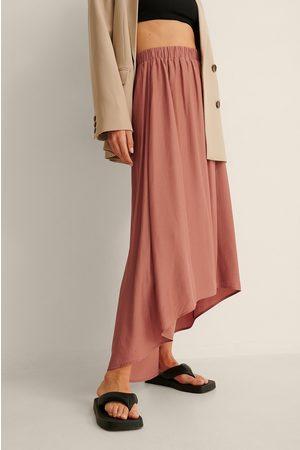 NA-KD Asymmetrisk Nederdel Med Vidde Af Genanvendt Materiale