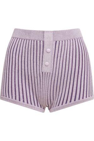 LIVE THE PROCESS Plaited Boy Shorts