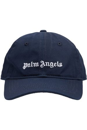 Palm Angels Drenge Kasketter - Logo Cotton Gabardine Baseball Hat