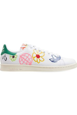 ADIDAS ORIGINALS Embroidered Stan Smith Sneakers