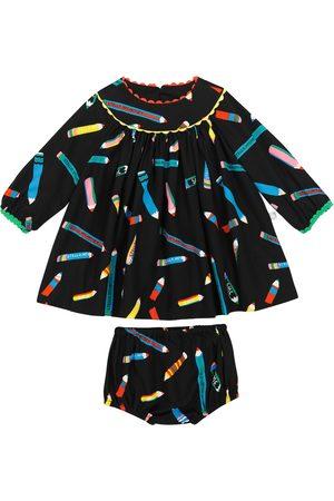 Stella McCartney Printed dress and bloomer set