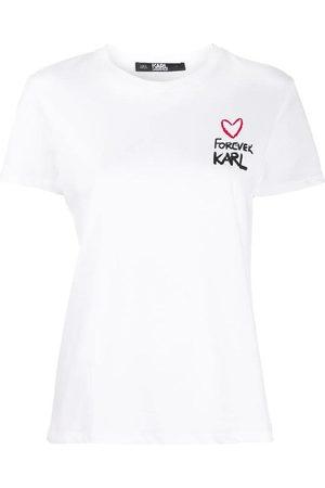 Karl Lagerfeld Kvinder Kortærmede - Forever T-shirt