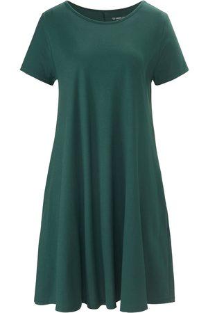 Green Cotton Kvinder Casual kjoler - Jerseykjole i 100% bomuld Fra grøn