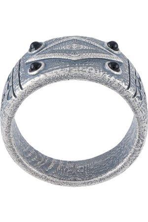 Nialaya Mænd Ringe - Onyx ring med indgravering