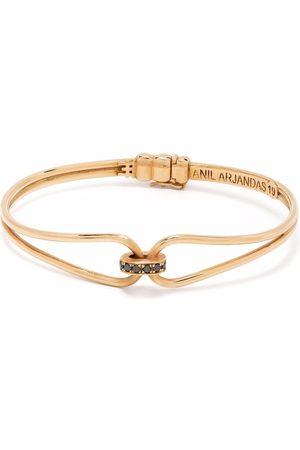 Anil Arjandas Mænd Armbånd - Wristgame armbånd i 18 karat rødguld med diamanter