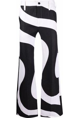Karl Lagerfeld Kassebukser - X Kenneth bukser med hvirvelprint