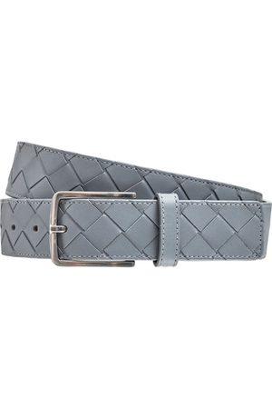 Bottega Veneta Mænd Bælter - 3.5cm New Intreccio Buckle Leather Belt