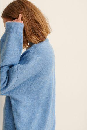 NA-KD Kvinder Strikkede kjoler - Højhalset Strikkjole