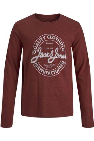 JACK & JONES Drenge Bomuldsjersey Langærmet T-shirt Mænd