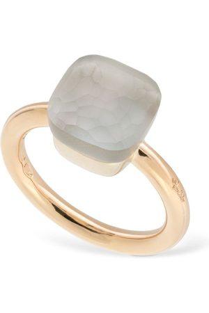 POMELLATO Nudo Gelè 18kt Ring W/ White Topaz