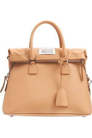 MAISON MARGIELA Medium 5ac Soft Leather Top Handle Bag