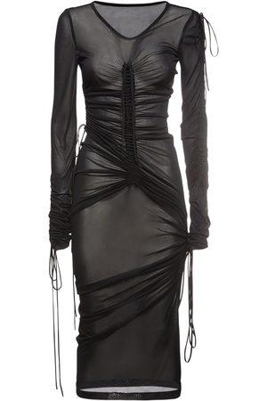 Dolce & Gabbana Kvinder Casual kjoler - Viscose Blend Jersey Midi Dress