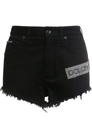 Dolce & Gabbana Kvinder Shorts - Denim Mini Shorts