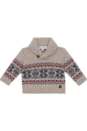 Tartine et Chocolat Baby jacquard wool sweater