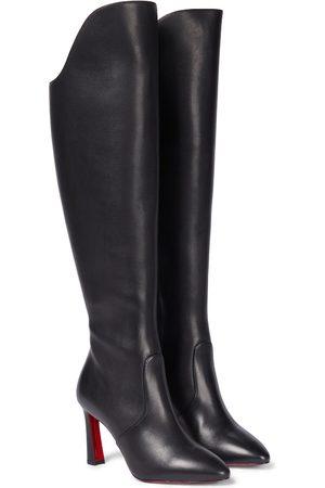 Christian Louboutin Eleonor Botta 85 leather knee-high boots