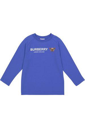 Burberry Bear cotton long-sleeved T-shirt