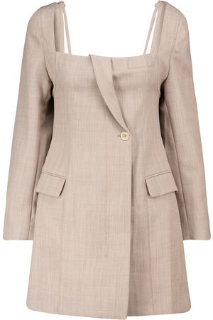 Jacquemus La Robe Maniu virgin wool minidress