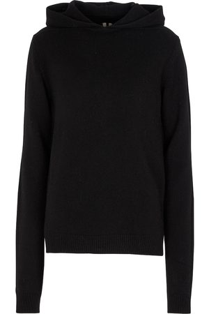 Rick Owens Cashmere and wool hoodie