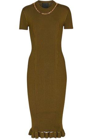 Givenchy Kvinder Midikjoler - Ribbed midi dress